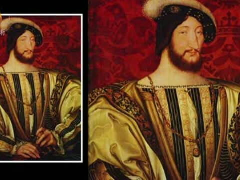 """画布上的皇室:国王肖像里的""""达芬奇密码"""""""