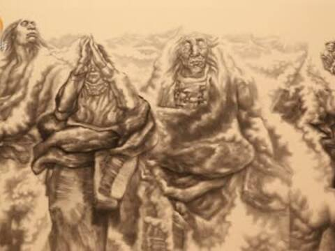 纪连彬:当代中国画家要表现当代生活