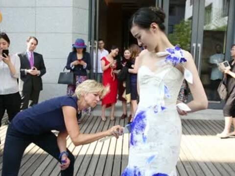 英格宝公主:时尚是流动的 艺术是鲜活的