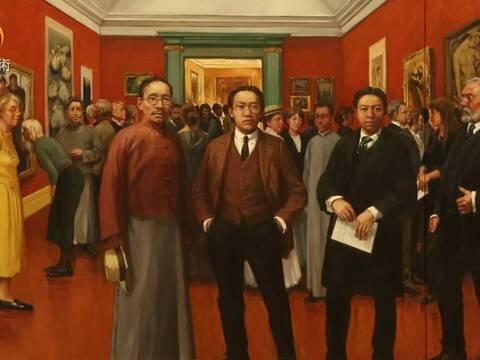 世纪风眠-林风眠画传展在中国美术馆开幕