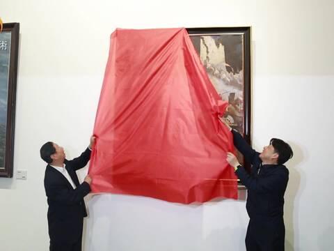"""""""岁月履痕 报效桑梓"""":肖峰 宋韧艺术展"""