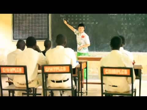 绿丝带非洲飘扬 贵州志愿者风采