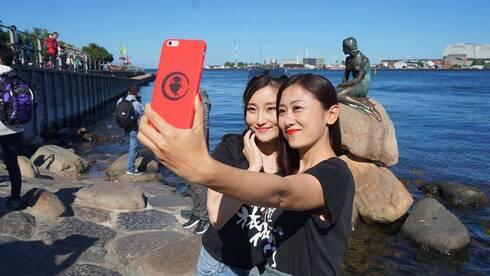 凤凰网旅游携手携程 美女主播丹麦蚝旅行