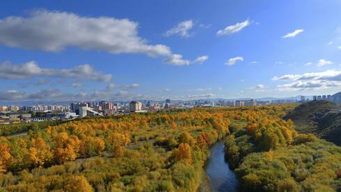 """被戏称为""""蒙古国唯一城市""""的乌兰巴托 夜那么静未来那么美"""