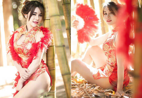 泰国女子旗袍写真引中国网友不满 官方回应