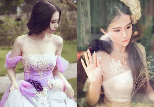 她是越南最红的美少女 长相神似刘亦菲
