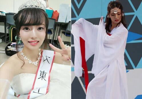 日本校花评选中国留学生夺冠 日网友沸腾了