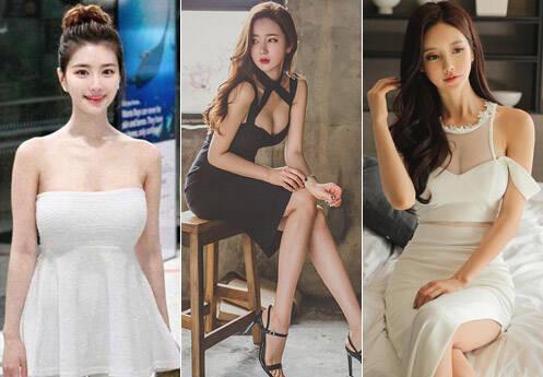 韩国评出2017十大网红女神 看脸分不清谁是谁
