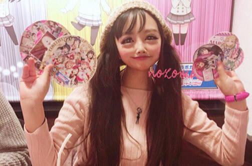 """日本惊现""""二次元美少女""""  网友:美到吓人"""