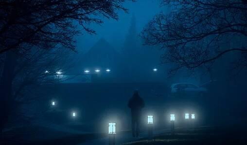 黑夜里的光亮