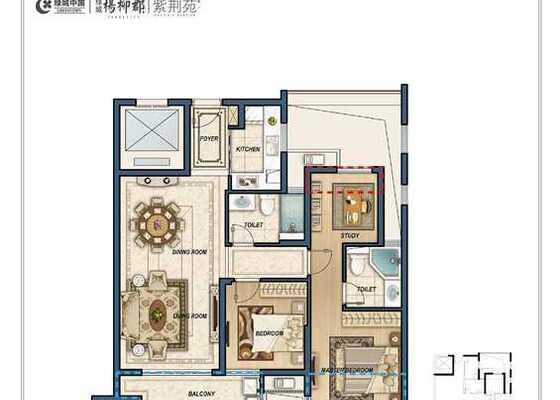 E6三室两厅两卫