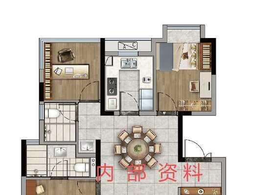 洋房113平户型