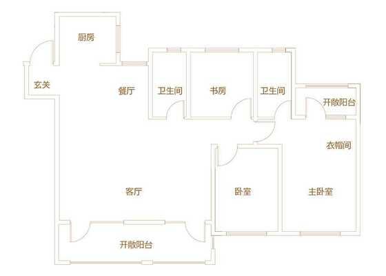 140平米三居
