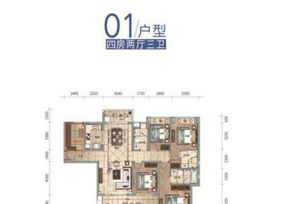 云帆济海洋房J01户型