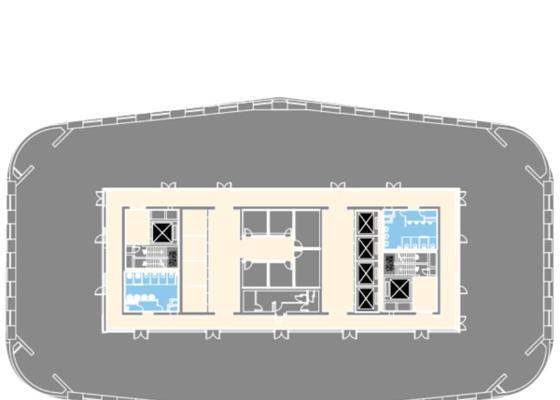 I座中区标准层(25-37层)