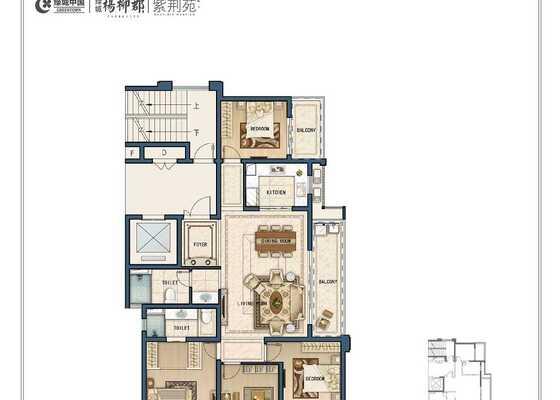C10四室两厅两卫154㎡
