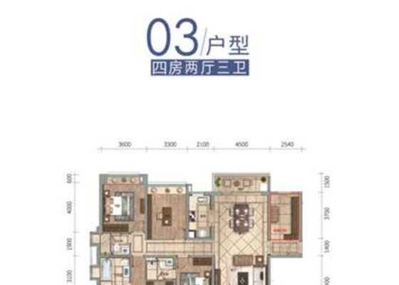 云帆济海洋房J03户型