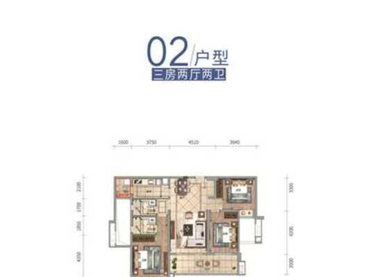云帆济海洋房J02户型