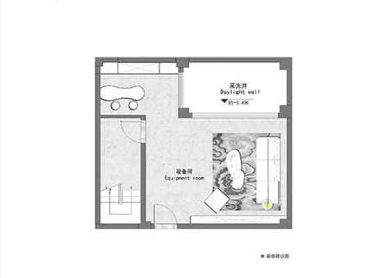 院墅建面148㎡三房两厅三卫
