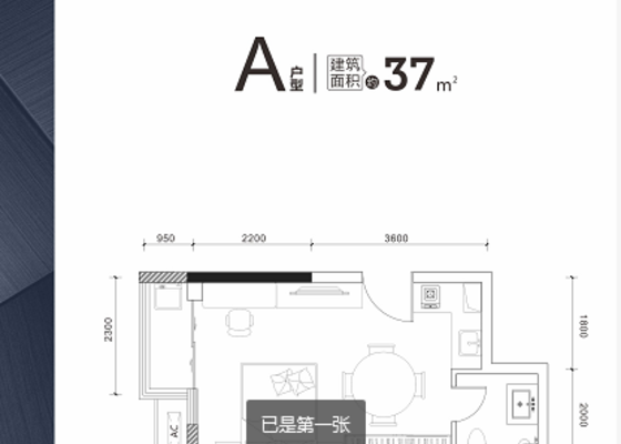 37㎡ A1户型
