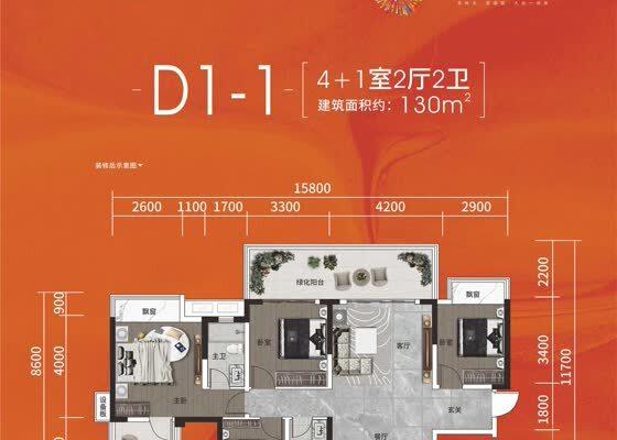 D1-1户型