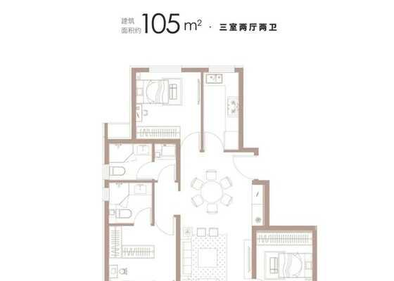 105平米