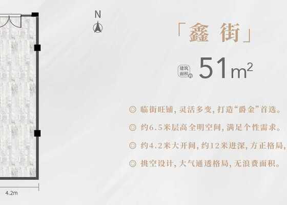 鑫街-51平方米