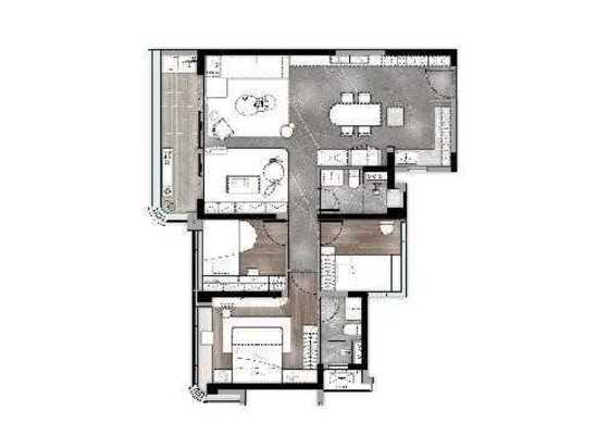 凌雲(1),3居,建筑面积约106㎡