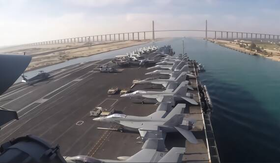 美航母進入紅海 伊朗高級將領:美國不敢動我們