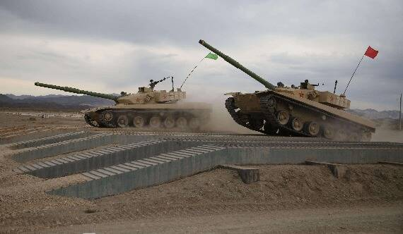 汾酒军机处︱中俄陆军谁更强?军事比赛对抗揭秘