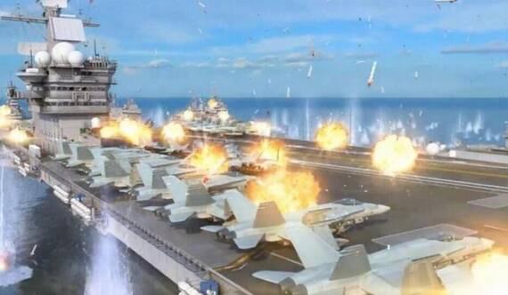 俄罗斯反航母脑洞大开:上千枚导弹如雨点般落下