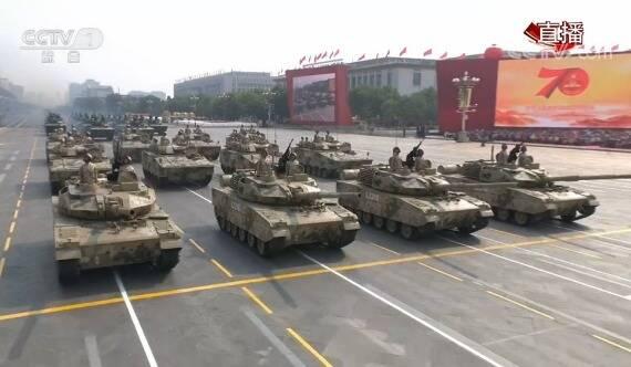 顏值很高!解放軍15式輕型坦克首次正式亮相