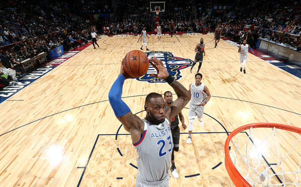NBA全明星-东部vs西部