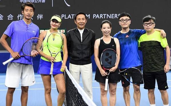 郑洁瞿颖出席中网球员名单发布会
