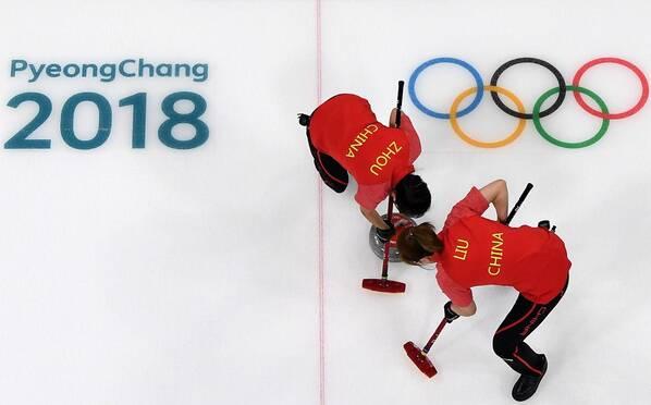 绝境重生!冰壶-中国女队10-7丹麦