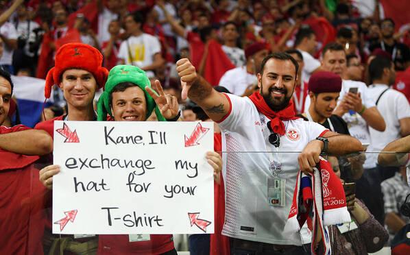 英格兰vs突尼斯