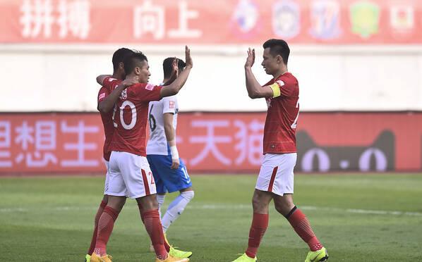 最后的尊严!广州恒大5-1大胜天津泰达