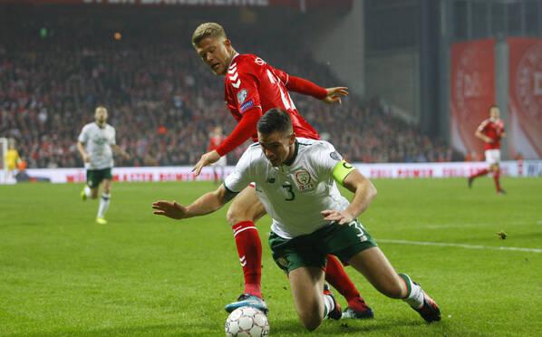 世预赛-爱尔兰0-0丹麦