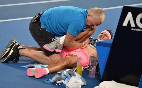 澳网-纳达尔决胜盘伤退 西里奇重返4强