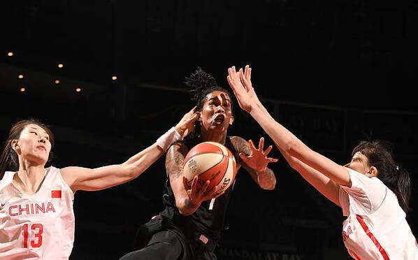 35分!中国女篮吞下一场惨败