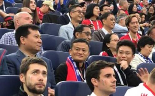 3000亿身价!最贵球迷马云张近东现身观战