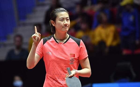 世乒赛-中国女乒3-0横扫印度