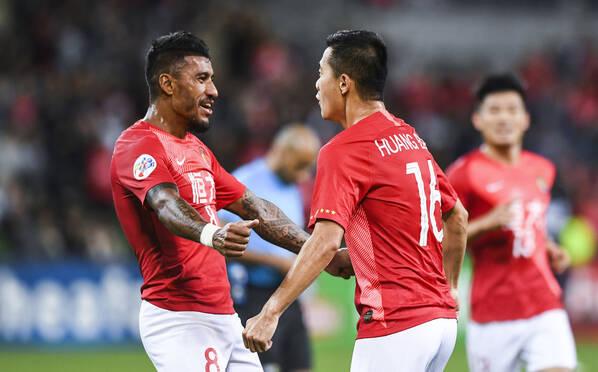 恒大1-1墨尔本胜利 黄博文赛季首球