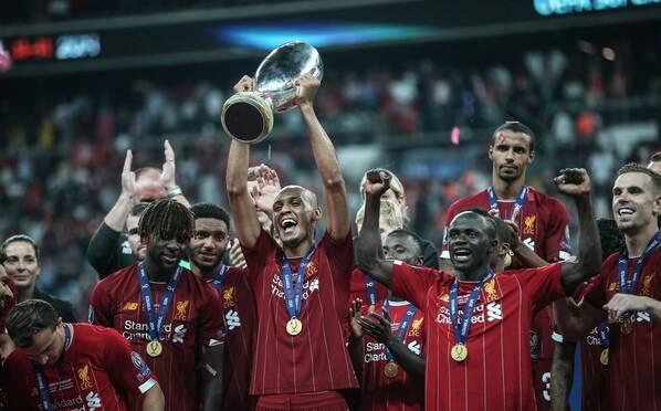 利物浦勇夺欧超杯 四次夺冠比肩皇马