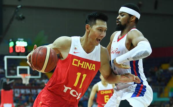 中国男篮取三连胜 易建联22+8王哲林17分