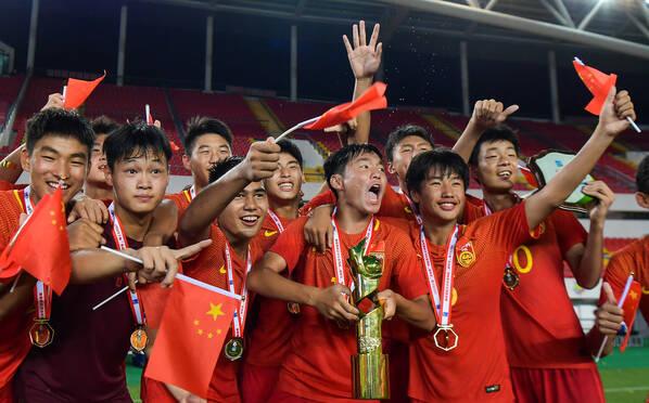 15-2夺冠!他们才是国足未来?