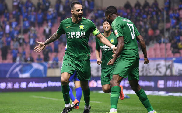 拿下关键3分!北京国安2-1上海申花