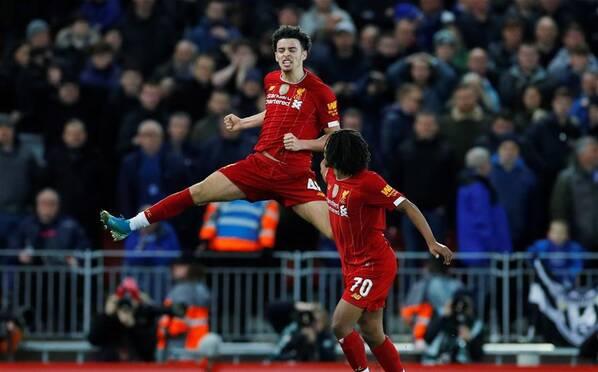 英格兰足总杯:利物浦1-0胜埃弗顿