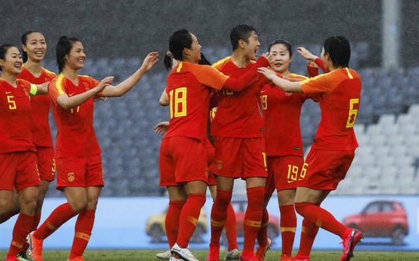 开门红!奥预赛-中国女足大胜泰国