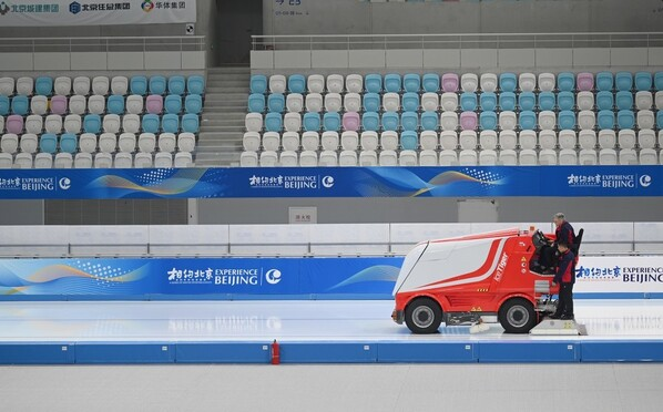 7项赛事5个场馆!北京冬奥会冰上项目测试活动举行